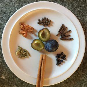 ingredienti per marmellata di prugne