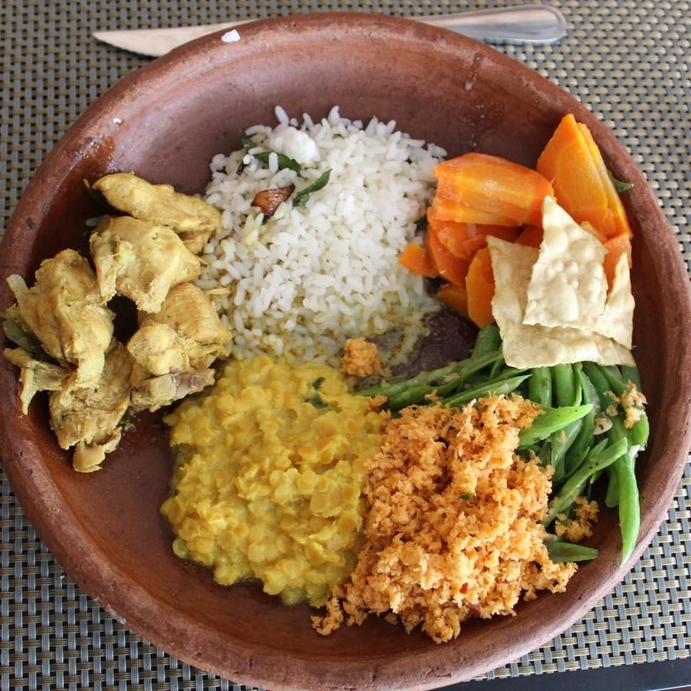 piatto di curry
