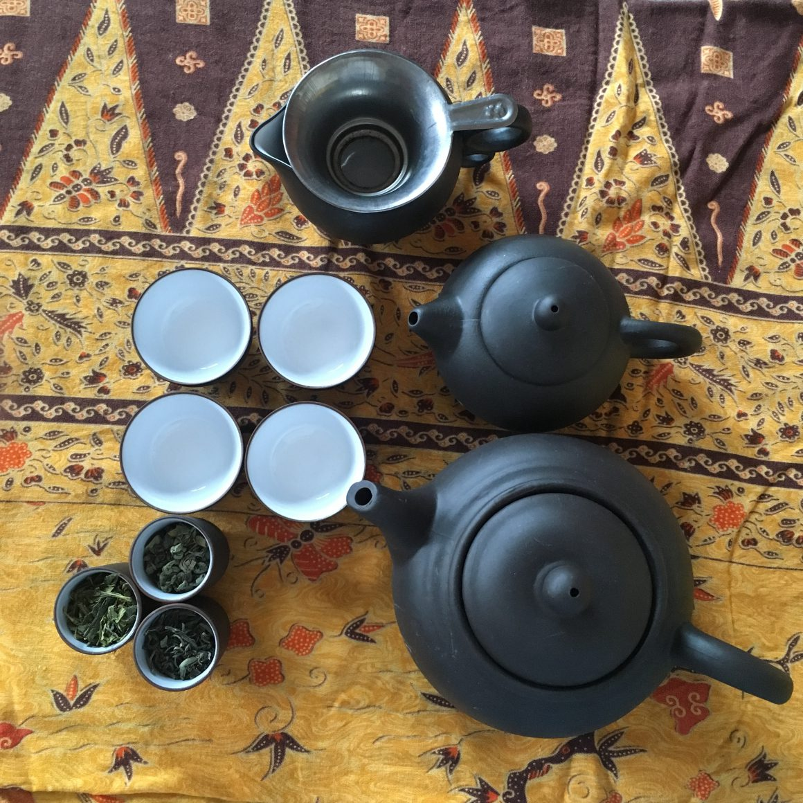 Set per tè verde
