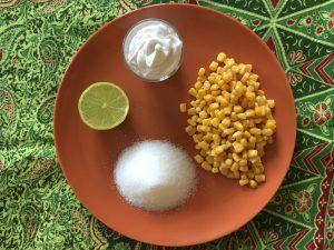ingredienti per gelato al granoturco