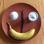 ingredienti per gelato alla banana