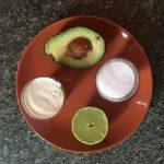 ingredienti per gelato all'avocado