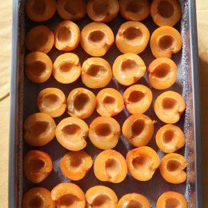 albicocche per clafoutie