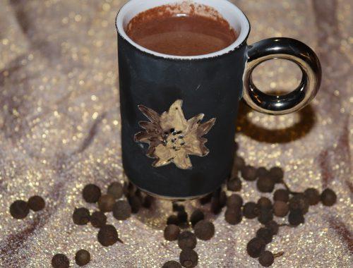 heisse schokolade mit Piment