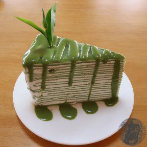 Torta al té verde