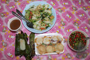 Cibo Thailandese colazione