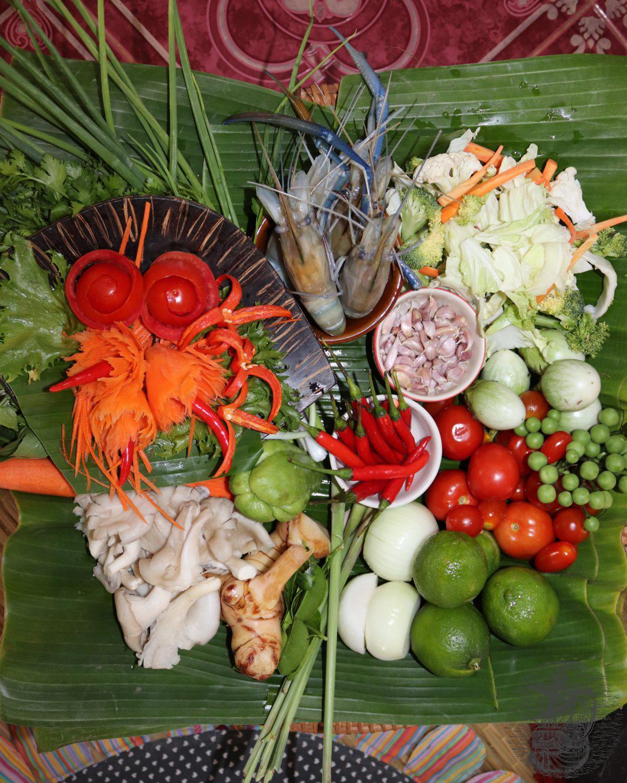 Ingredienti per cena Thai