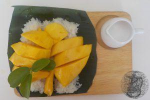 Sticky rice con Mango