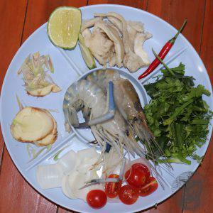 Tom Yum Kung ingredienti