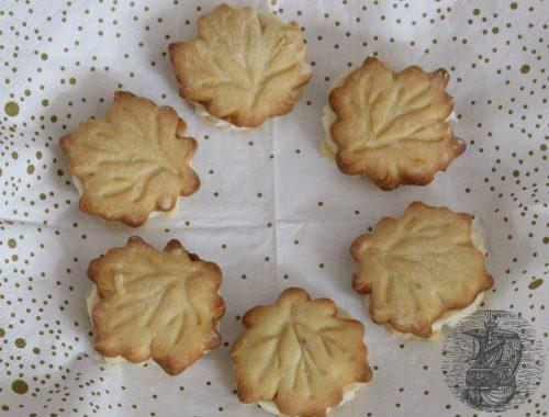 biscotti allo sciroppo d'acero