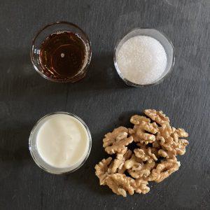 gelato di noci ingredienti