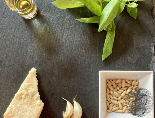Pesto Zutaten