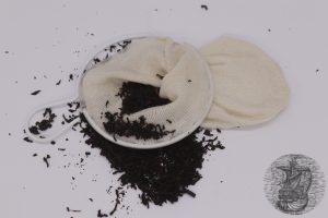 Filtro del tè in stoffa
