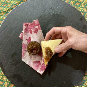 Chtuney al pomodoro verde con formaggio
