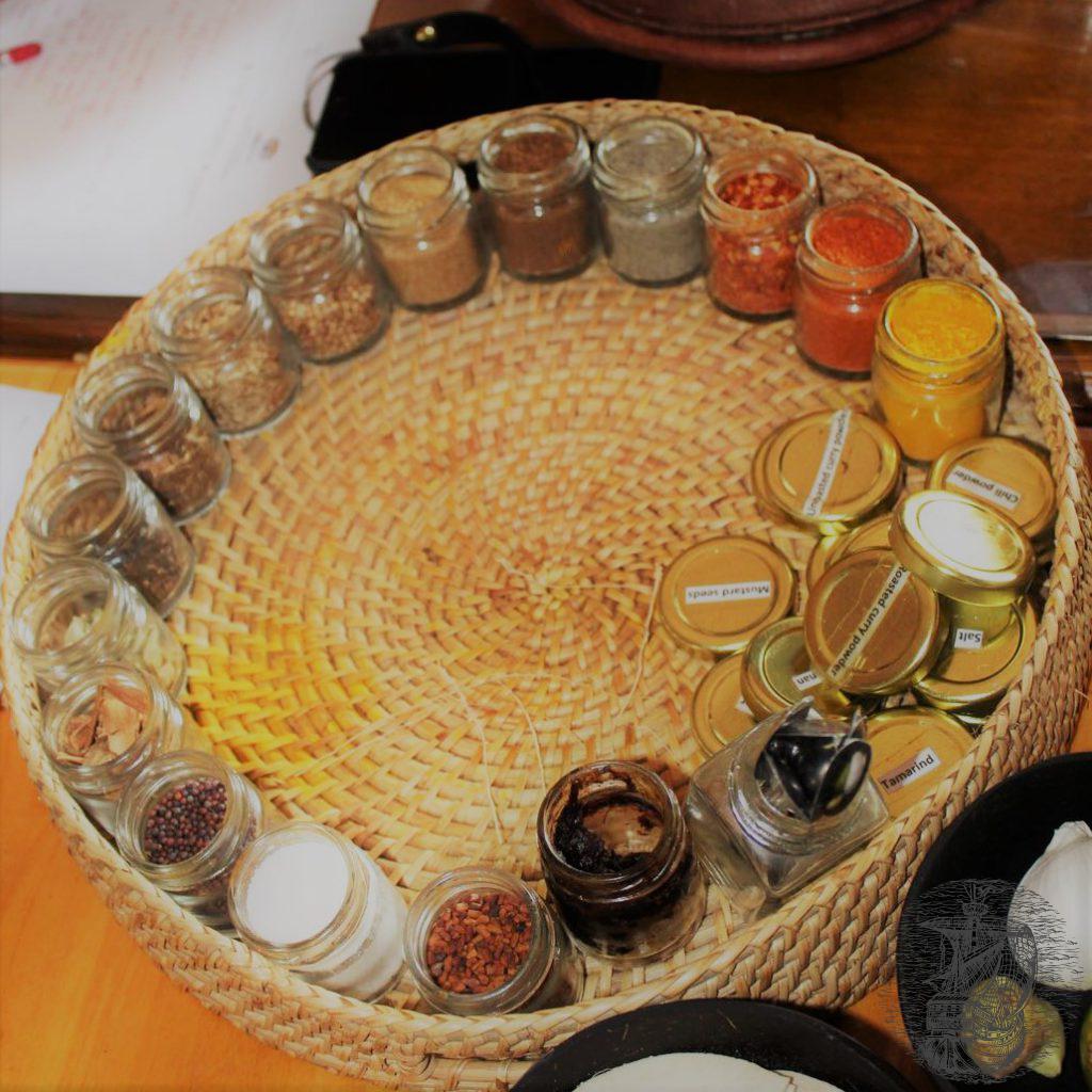 spezie per miscela di curry