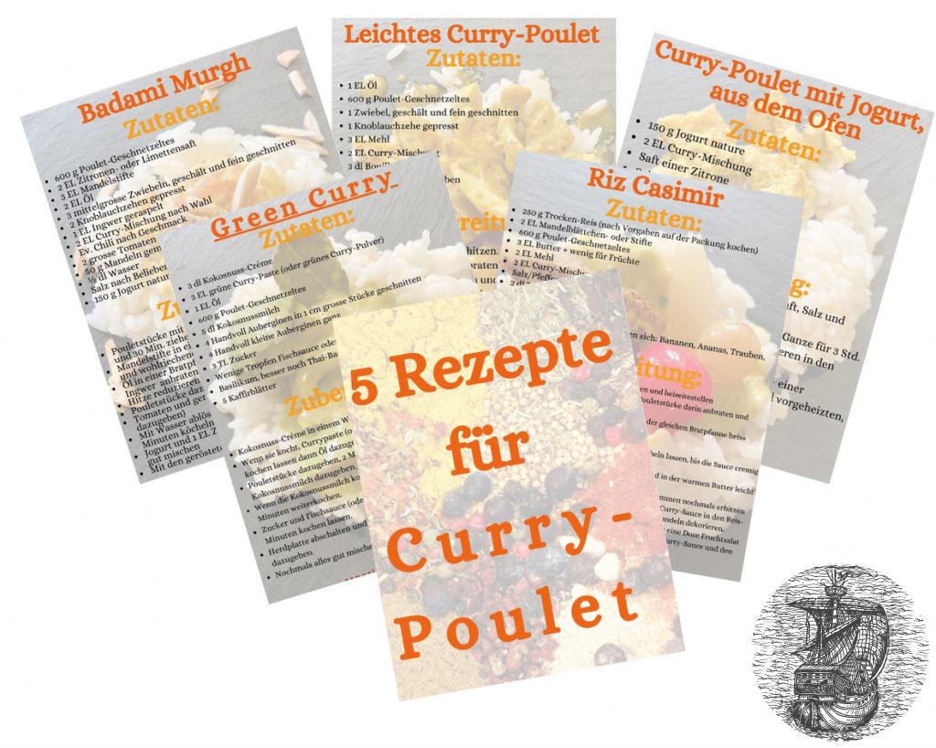Curry-Poulet-Rezepte