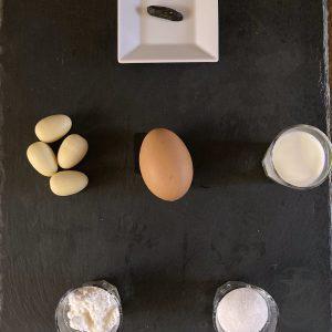 Crema di fave tonka, ingredienti